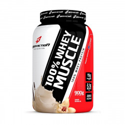 100% Whey Muscle Baunilha 900g BodyAction