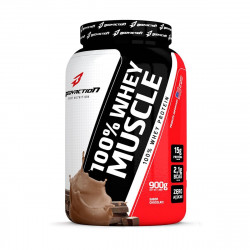 100% Whey Muscle Chocolate 900g BodyAction