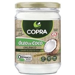 Óleo de Coco Extravirgem Orgânico 500ml Copra