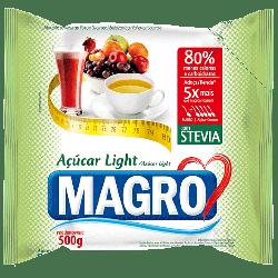 Açúcar Light com Stevia 500g Magro