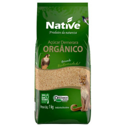 Açúcar Demerara Orgânico 1Kg Native