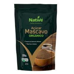 Açúcar Mascavo Orgânico 250g Native