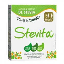 Adoçante de Stevia 50 Sachês Stevita