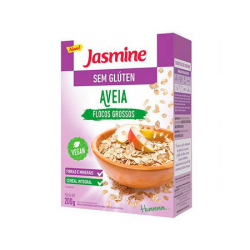 Aveia Flocos Grossos sem Glúten 200g Jasmine