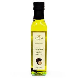 Azeite Italiano Condimentado com Trufa Preta Garrafa 250ml Savitar