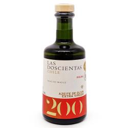 Azeite Extravirgem Chileno Picual 0,2%AC 500ml Las Doscientas
