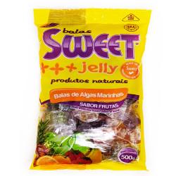 Balas de Algas Marinhas Sabor Frutas 500g Sweet Jelly