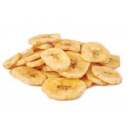 Banana Desidratada Chips Doce Granel