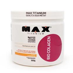 Bio Colagen Colágeno Hidrolisado Tangerina 300g Max Titanium