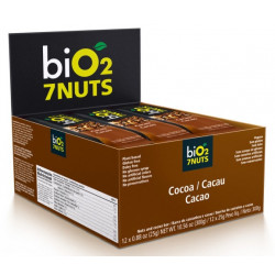 Bio2 7Nuts Cacau Display 12x25g