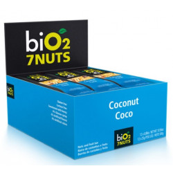 Bio2 7Nuts Coco Display 12x25g