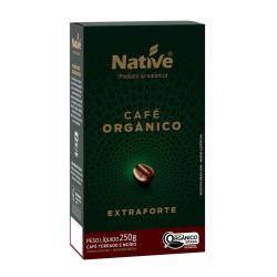 Café Orgânico Extra Forte Moído 250g Native