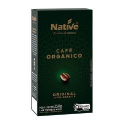 Café Orgânico Original Torrado e Moído 250g Native