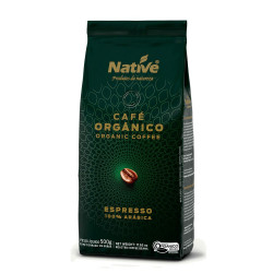 Café em Grãos Orgânico 500g Native