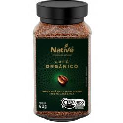 Café Orgânico Instantâneo 90g Native