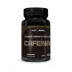 Cápsulas de Cafeína Super 60 de 310mg Apinustri