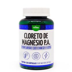 Cápsulas de Cloreto de Magnésio P.A. 120 de 500mg Vitalab