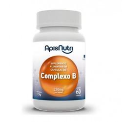 Cápsulas de Complexo B 60 de 15g Apisnutri