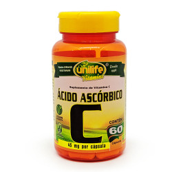 Cápsulas de Vitamina C 60 de 450mg Unilife