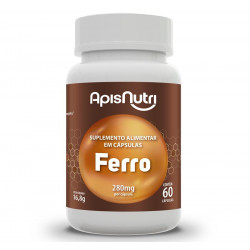 Cápsulas de Ferro 60 de 280mg Apisnutri