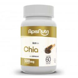 Cápsulas de Óleo de Chia 60 de 500mg Apisnutri