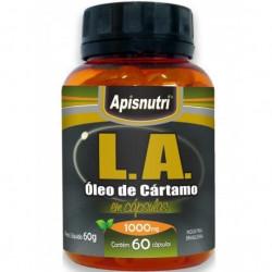 Cápsulas de Óleo de Cártamo 60 de 1000mg Apisnutri