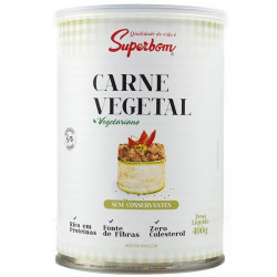 Carne Vegetal 400g Superbom