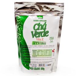 Colágeno Hidrolisado Com Chá Verde 200g Vitalab