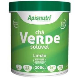 Chá Verde Solúvel Limão 200g Apisnutri
