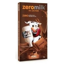 Chocolate Vegano 40% Cacau Sem Lactose 80g Zeromilk