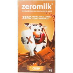 Chocolate Crisp 0% Lactose 80g Zeromilk
