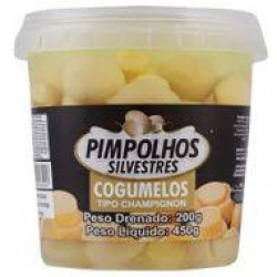 Champignon Inteiro 200g Pimpolho