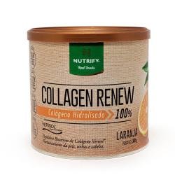 Collagen Renew Colágeno Hidrolisado Laranja 300g Nutrify