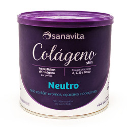 Colágeno Skin Neutro Colágeno 300g Sanavita