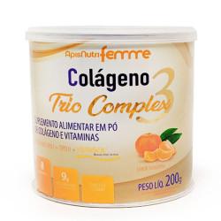 Colágeno Trio Complex 3 Tangerina 200g Apisnutri