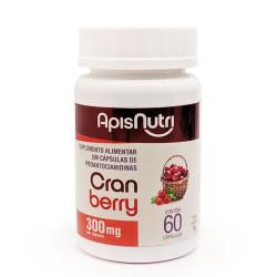 Cápsulas de Cranberry 60 de 300mg Apisnutri