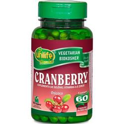 Cápsulas Cranberry 60 de 500mg da Unilife