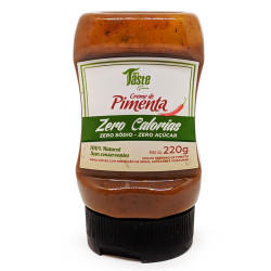 Creme de Pimenta Zero 220g Mrs Taste