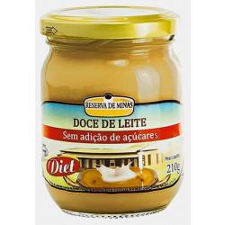 Doce de Leite Puro Diet 210g Reserva de Minas