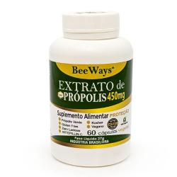 Cápsulas de Extrato de Própolis 60 de 450mg Bee Ways