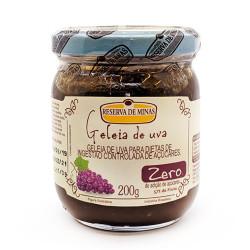 Geleia de Uva Zero 200g Reserva de Minas