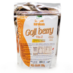 Colágeno Hidrolisado Com Goji Berry 200g Vitalab
