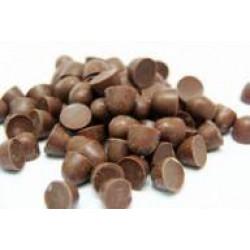 Dragee Gotas Chocolate ao Leite Granel