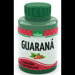 Cápsulas de Guaraná 60 de 250mg da Vitalab