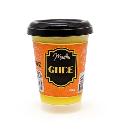 Manteiga Ghee 180g Madhu Bakery