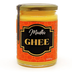 Manteiga Ghee 300g Madhu Bakery