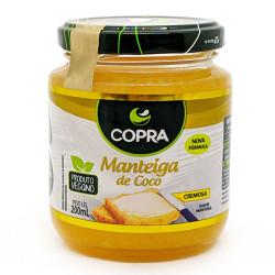 Manteiga de Coco Cremosa Sabor Manteiga 200ml Copra