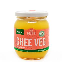 Manteiga Ghee Com Sal Rosa Vegana 200g Benni