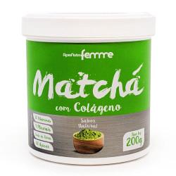Matchá Com Colágeno Magry Leve 200g Apisnutri