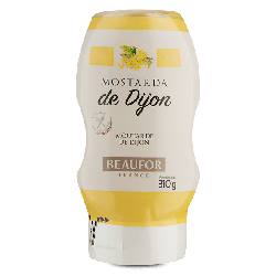 Mostarda de Dijon Squeeze 310g Beaufor